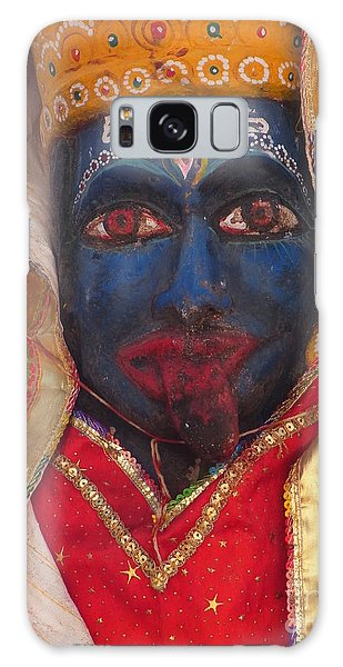 Kali Maa - Glance Of Compassion Galaxy Case