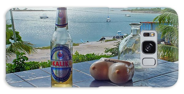 Kalik Beer Bottle At The Front Porch Galaxy Case