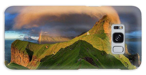 Rainbow Galaxy Case - Kallur Sunset by Wojciech Kruczynski