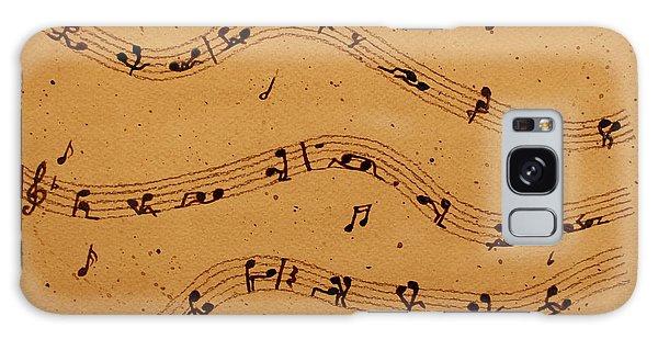 Kamasutra Music Coffee Painting Galaxy Case