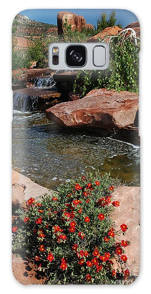 217p Kanab Ut Water Feature Galaxy Case