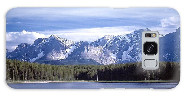 Kananaskis Mountains Lake Galaxy Case by Jim Sauchyn