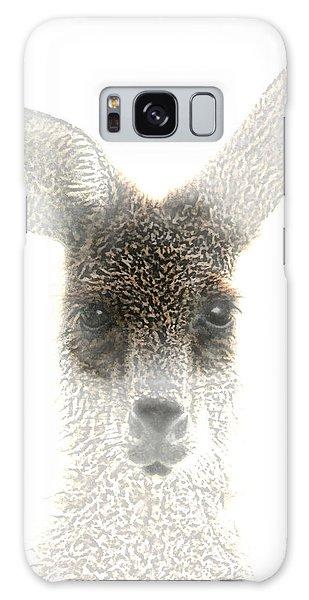 Kangaroo Galaxy Case by Holly Kempe