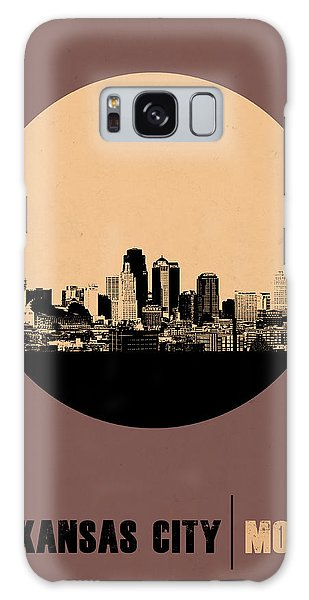 Downtown Galaxy Case - Kansas City Circle Poster 2 by Naxart Studio
