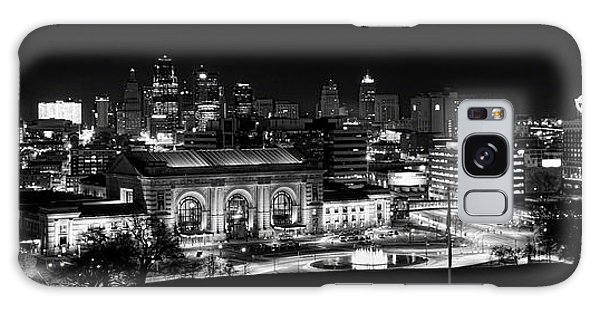 Kansas City In Black And White Galaxy Case