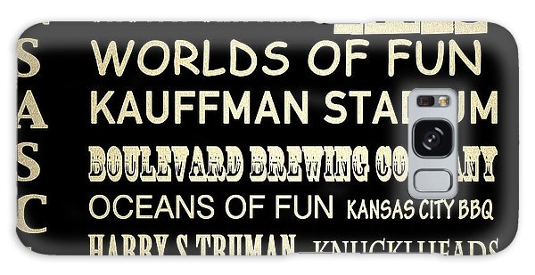 Kansas City Famous Landmarks Galaxy Case