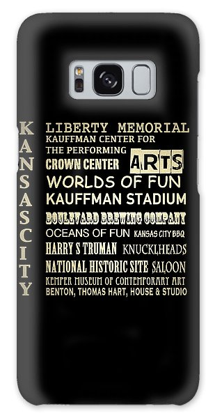 Kansas City Famous Landmarks Galaxy Case