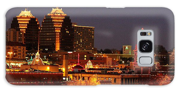 Kansas City Plaza Lights Galaxy Case