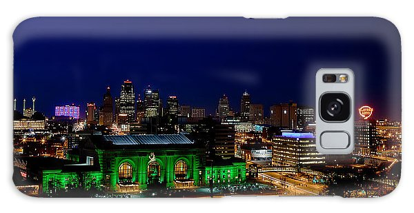 Kansas City Skyline Galaxy Case
