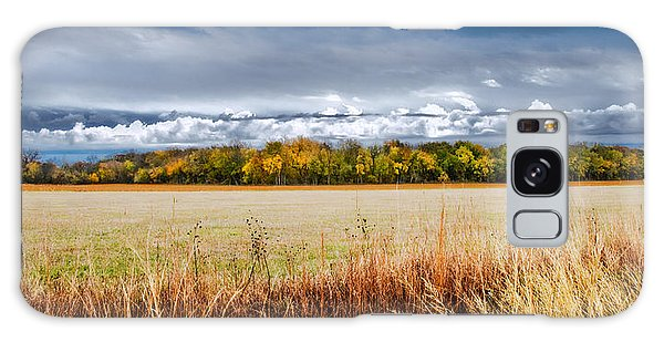 Kansas Fall Landscape Galaxy Case