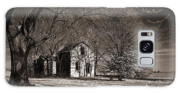 Kansas Farm House I Galaxy Case by Thomas Bomstad