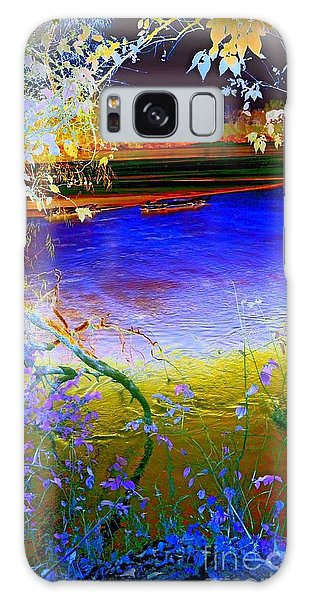 Kansas River 2 Galaxy Case by Karen Newell