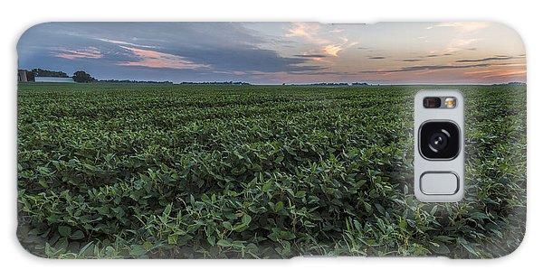 Kansas Soybeans Galaxy Case