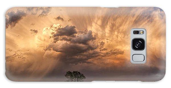 Kansas Storm Cloud Galaxy Case