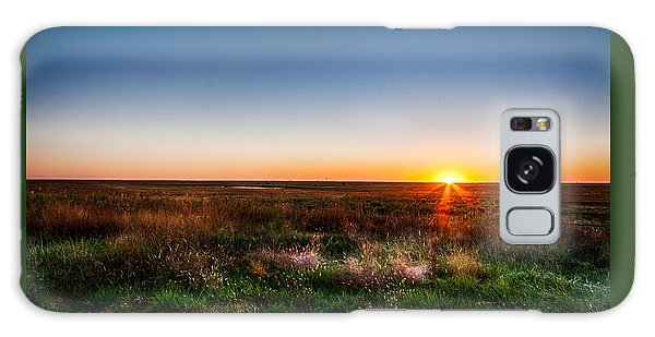 Kansas Sunrise Galaxy Case by Jay Stockhaus