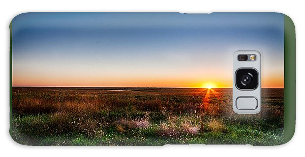 Kansas Sunrise Galaxy Case