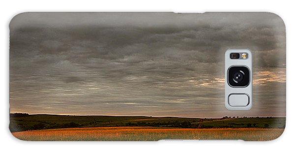 Kansas Sunrise Galaxy Case by Thomas Bomstad