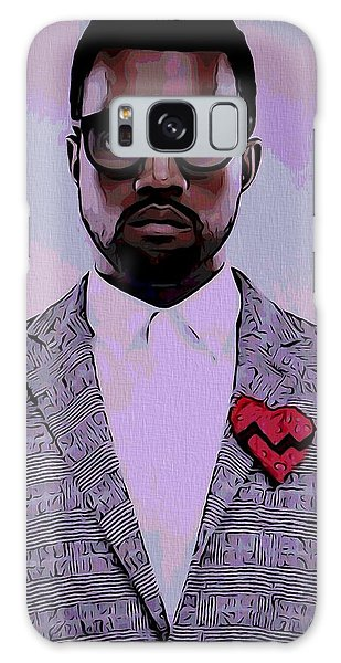 Kanye West Poster Galaxy Case