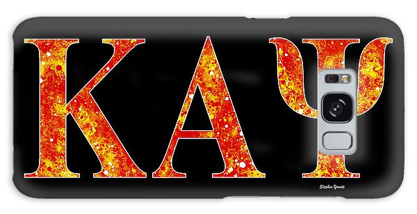 Kappa Alpha Psi - Black Galaxy Case by Stephen Younts