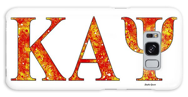 Kappa Alpha Psi - White Galaxy Case by Stephen Younts