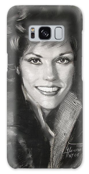 Karen Carpenter Galaxy Case by Viola El