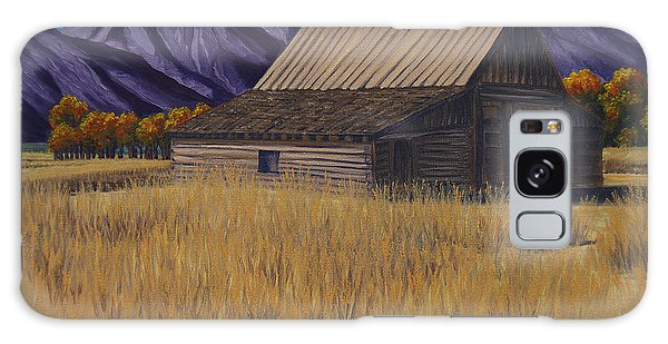 Karen's Teton Barn Galaxy Case