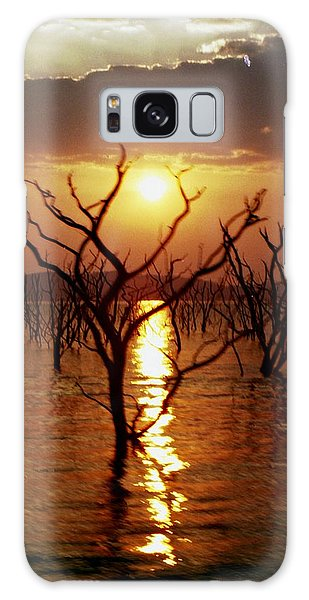 Kariba Sunset Galaxy Case
