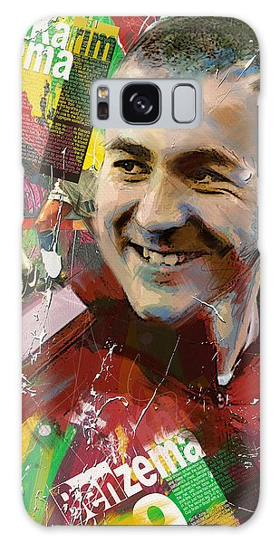Premier League Galaxy Case - Karim Benzema by Corporate Art Task Force