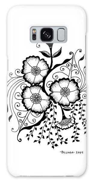 Karla's Flowers Galaxy Case