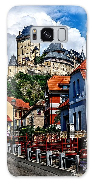 Karlstejn Castle In Prague  Galaxy Case