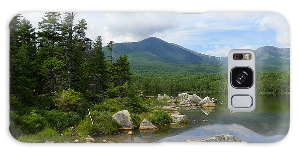 Katahdin And Sandy Stream Pond Galaxy Case