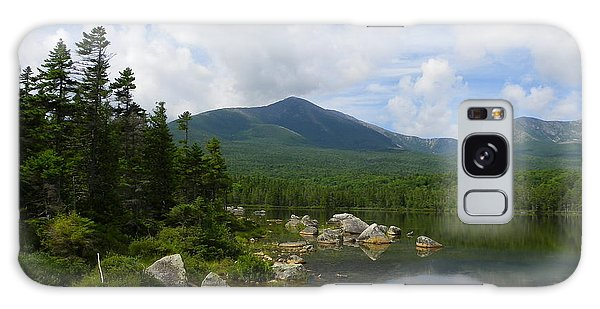 Katahdin At Sandy Stream Pond 1 Galaxy Case