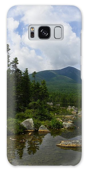 Katahdin From Sandy Stream Pond Galaxy Case