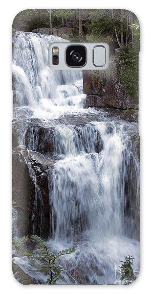 Katahdin Stream Falls Baxter State Park Maine Galaxy Case
