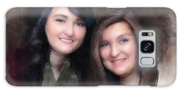 Katie And Sara Galaxy Case