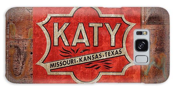 Katy Railroad Sign Dsc02853 Galaxy Case