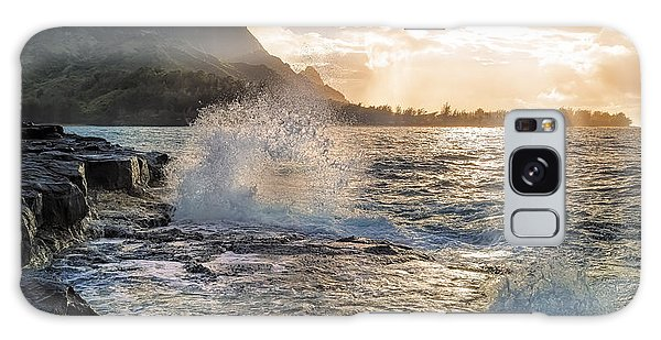 Kauai Coast Galaxy Case by Hawaii  Fine Art Photography