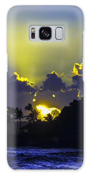 Kauai Sunset Galaxy Case
