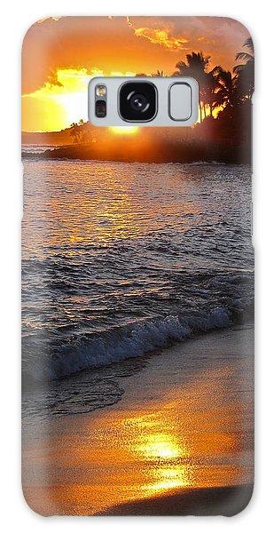 Kauai Sunset Galaxy Case