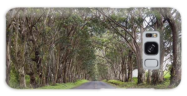 Kauai Tree Tunnel Road Galaxy Case