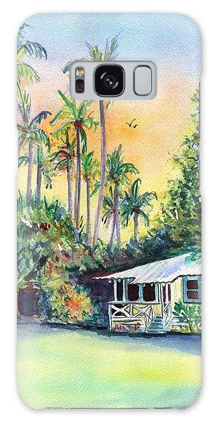 Kauai West Side Cottage Galaxy Case by Marionette Taboniar
