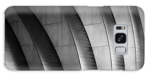 Kauffman Performing Arts Center Black And White Galaxy Case