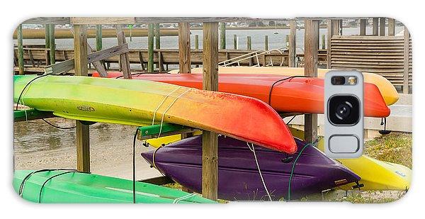 Kayak Rack Galaxy Case by Denis Lemay