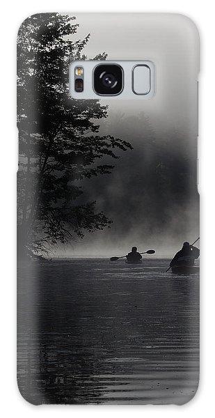 Kayaking In The Fog Galaxy Case