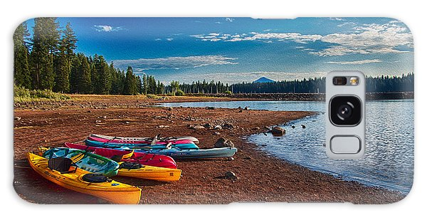 Kayaking On Howard Prairie Lake In Oregon Galaxy Case