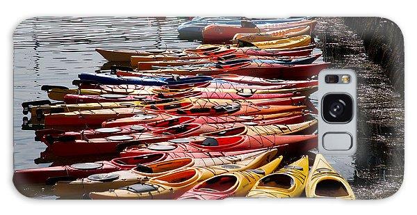Kayaks At Rockport Galaxy Case