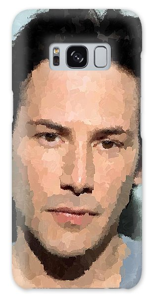 Keanu Reeves Portrait Galaxy Case