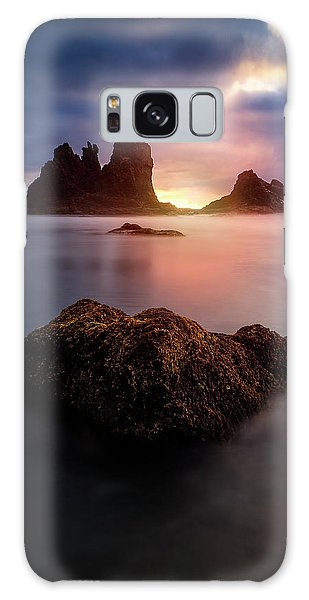 Seashore Galaxy Case - Keep It Inside by Carlos M. Almagro