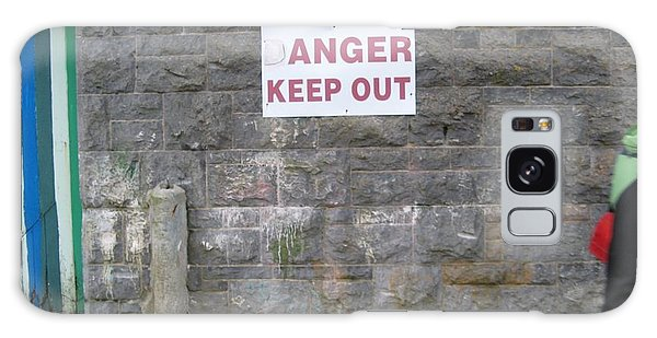 Keep Out Aran Islands Ireland Galaxy Case