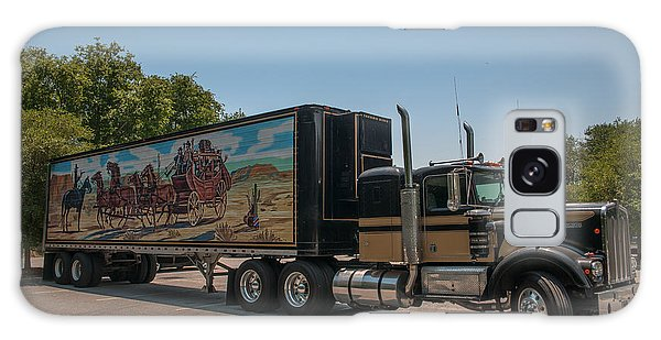 Keep Those Wheels A Truckin Galaxy Case